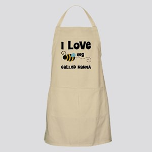 I Love Being Called Nanna Apron