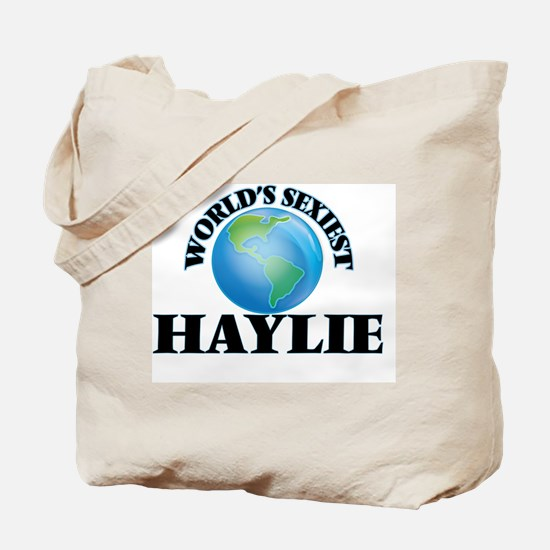 World's Sexiest Haylie Tote Bag