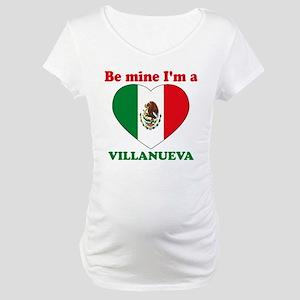 Villanueva, Valentine's Day Maternity T-Shirt