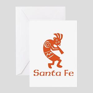 Santa Fe Kokopelli Greeting Cards