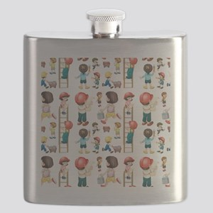 Seamless workers Flask