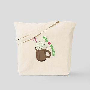 Sip A Smile Tote Bag