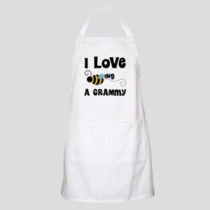 I Love Being A Grammy Apron