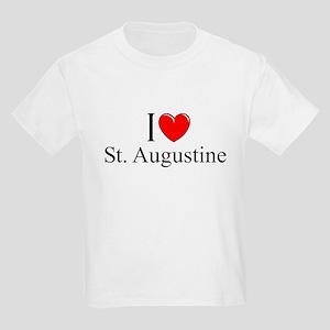 """I Love St. Augustine"" Kids Light T-Shirt"