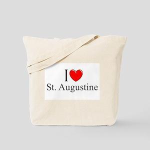 """I Love St. Augustine"" Tote Bag"
