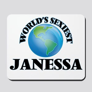 World's Sexiest Janessa Mousepad