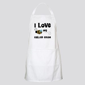 I Love Being Called Gram Apron