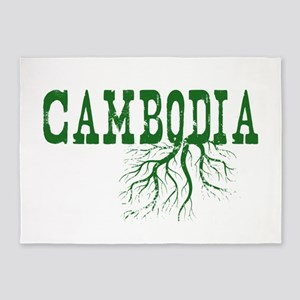Cambodia Roots 5'x7'Area Rug