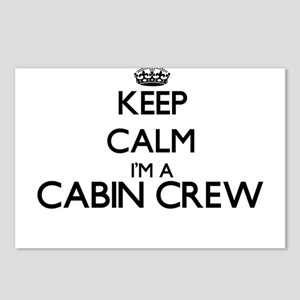 Keep calm I'm a Cabin Cre Postcards (Package of 8)