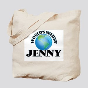 World's Sexiest Jenny Tote Bag