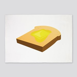 Bread Slice 5'x7'Area Rug