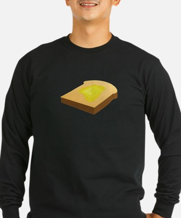 Bread Slice Long Sleeve T-Shirt