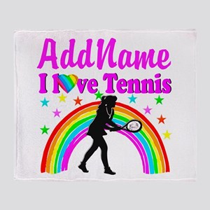 TENNIS PLAYER Throw Blanket