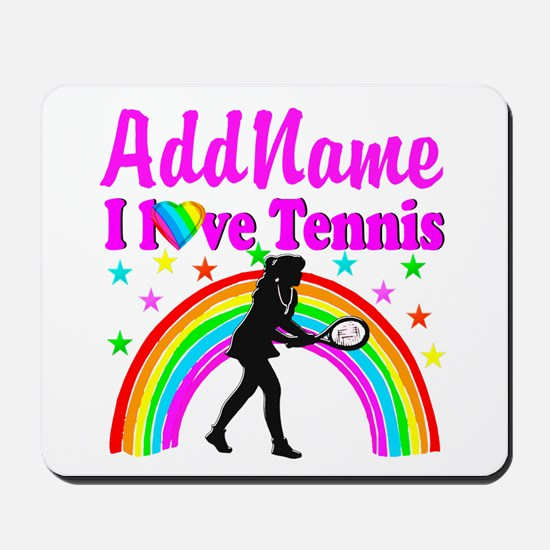 TENNIS PLAYER Mousepad