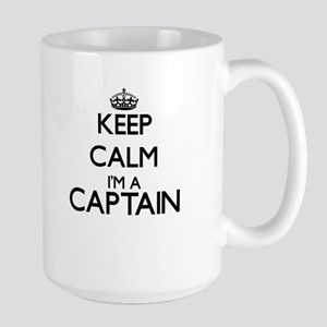 Keep calm I'm a Captain Mugs