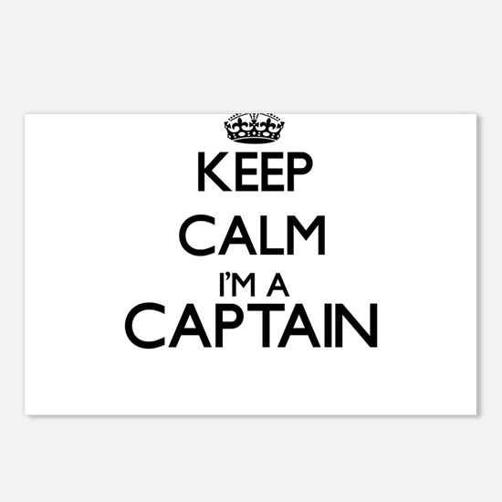 Keep calm I'm a Captain Postcards (Package of 8)