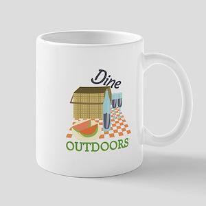 Dine Outdoors Mugs