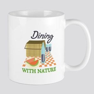 Dining With Nature Mugs