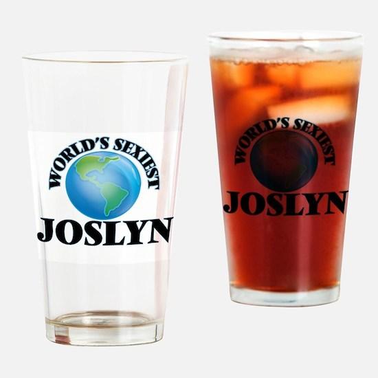 World's Sexiest Joslyn Drinking Glass