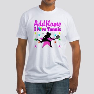 TENNIS PLAYER Fitted T-Shirt
