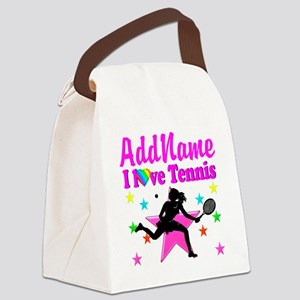 TENNIS PLAYER Canvas Lunch Bag