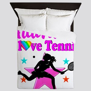 TENNIS PLAYER Queen Duvet