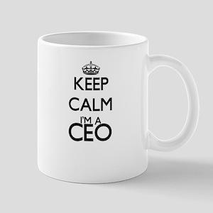 Keep calm I'm a Ceo Mugs