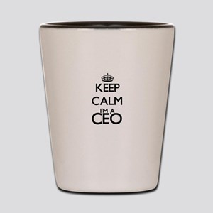 Keep calm I'm a Ceo Shot Glass