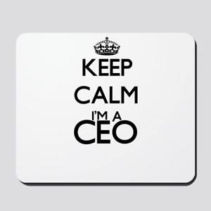 Keep calm I'm a Ceo Mousepad