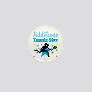 TENNIS PLAYER Mini Button