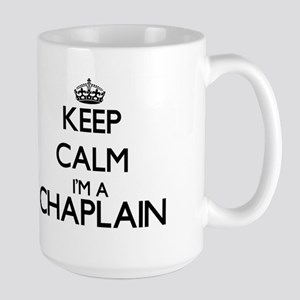 Keep calm I'm a Chaplain Mugs