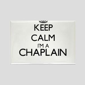 Keep calm I'm a Chaplain Magnets