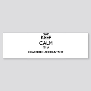 Keep calm I'm a Chartered Accountan Bumper Sticker