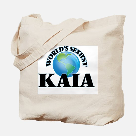 World's Sexiest Kaia Tote Bag