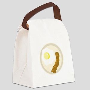 Breakfast Canvas Lunch Bag