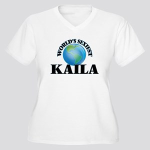 World's Sexiest Kaila Plus Size T-Shirt