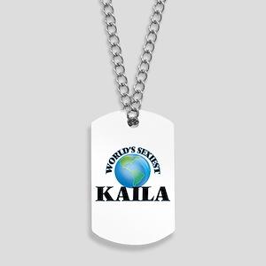 World's Sexiest Kaila Dog Tags