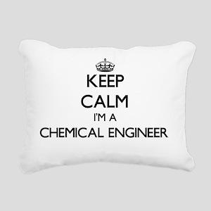 Keep calm I'm a Chemical Rectangular Canvas Pillow
