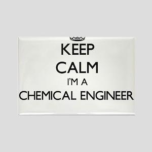 Keep calm I'm a Chemical Engineer Magnets