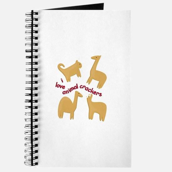Love Animal Crackers Journal