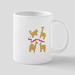 Love Animal Crackers Mugs
