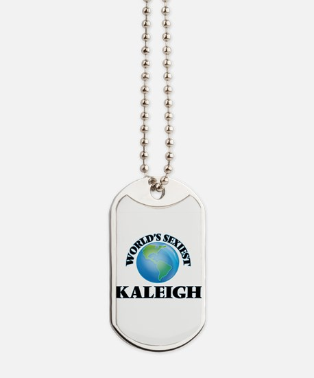 World's Sexiest Kaleigh Dog Tags