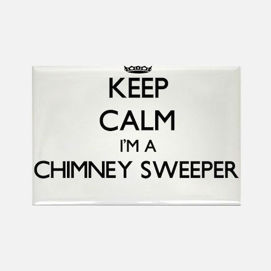 Keep calm I'm a Chimney Sweeper Magnets