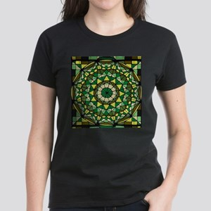 Stained Glass Geo Labyrinth T-Shirt