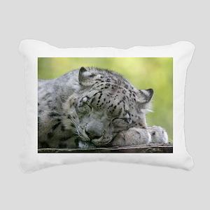 Leopard008 Rectangular Canvas Pillow