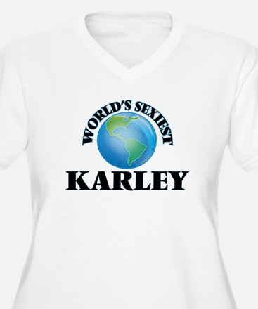 World's Sexiest Karley Plus Size T-Shirt