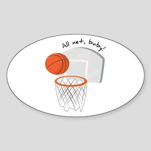 All Net,Baby! Sticker