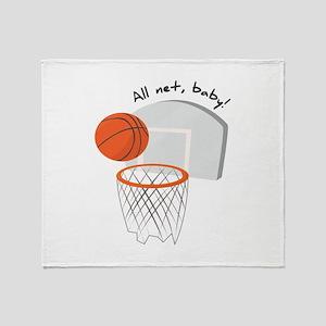 All Net,Baby! Throw Blanket