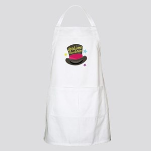 Welcome Resolutions Apron