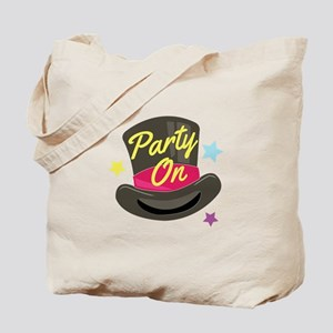 Party On Tote Bag